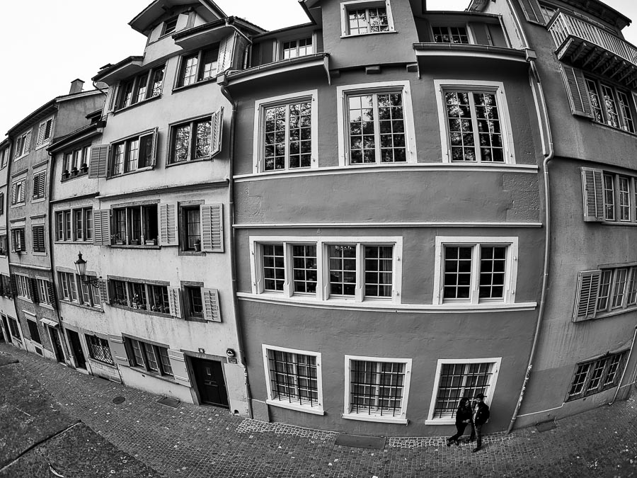 #41 The streets of Zurich